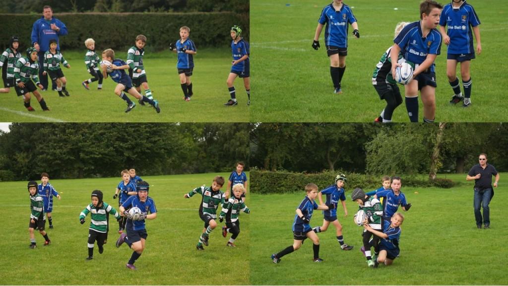 Action shots against Lymm