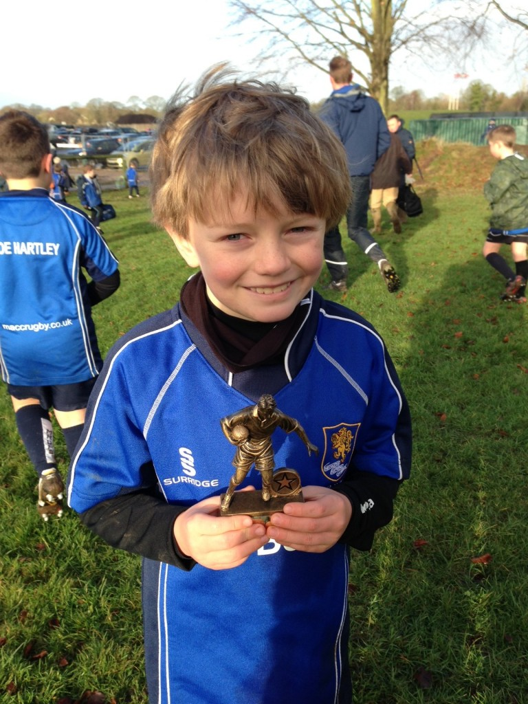 Charlie Hogg - Player of the Week - 09/12/12