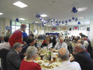 Christmas Pre-match lunch 1