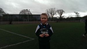 Josh with Performance of the Week Trophy