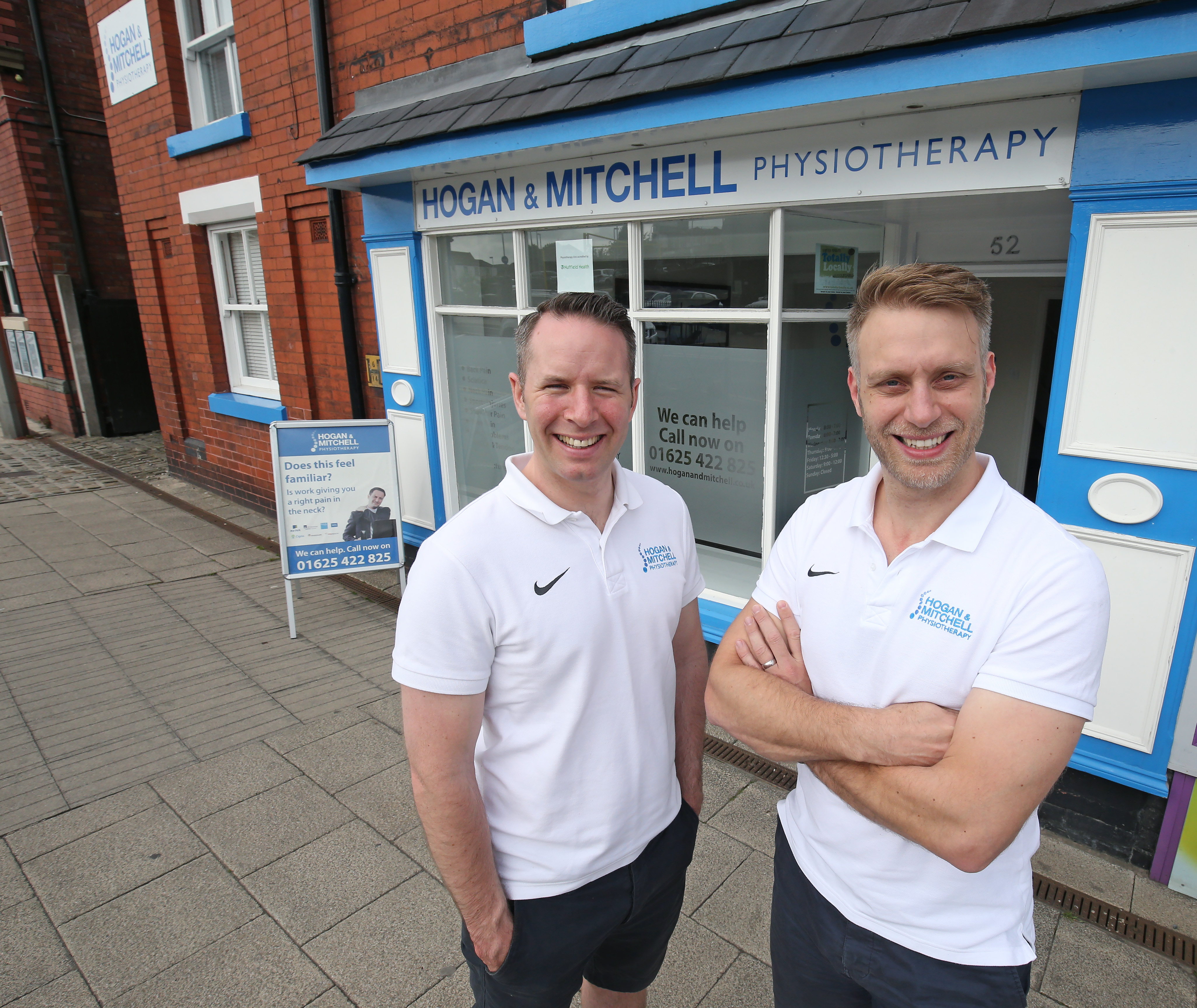 Hogan and mitchell physiotherapy macclesfield