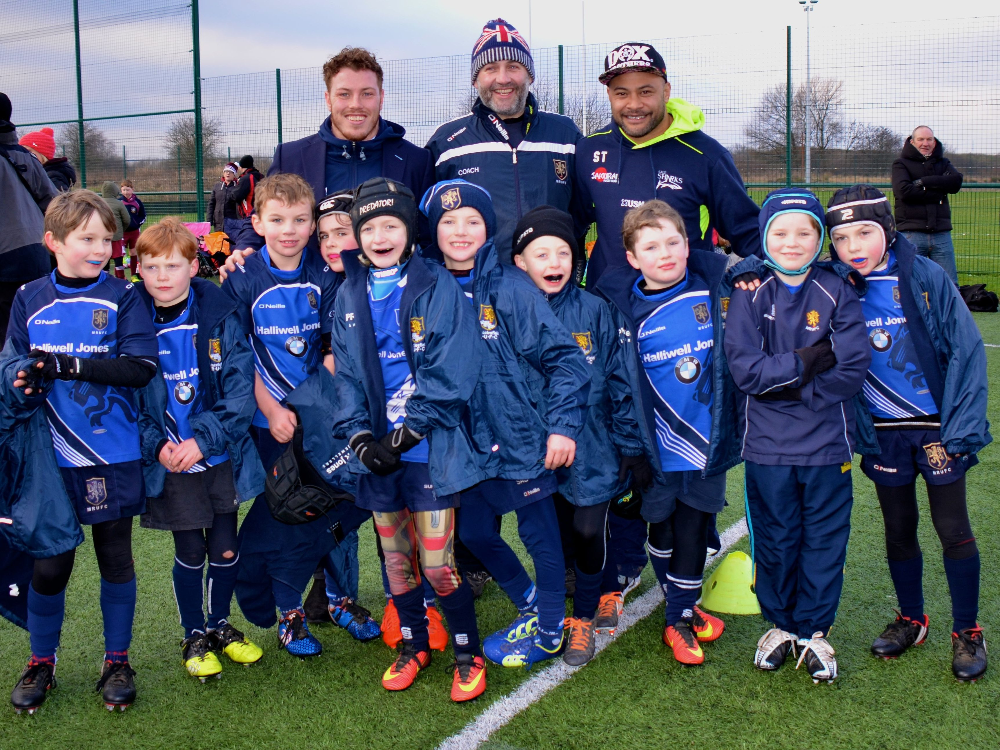 Macclesfield Under 9s at Sharks