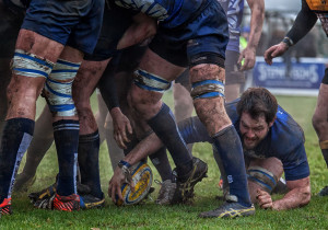 Retrieving the ball from the scrum