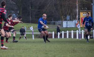 Sam Moss demos his handling skills