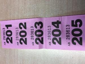winning tickets