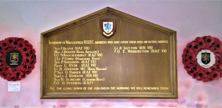 remembrance day at macc