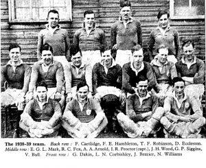 Macclesfield 1st 1938/39 season