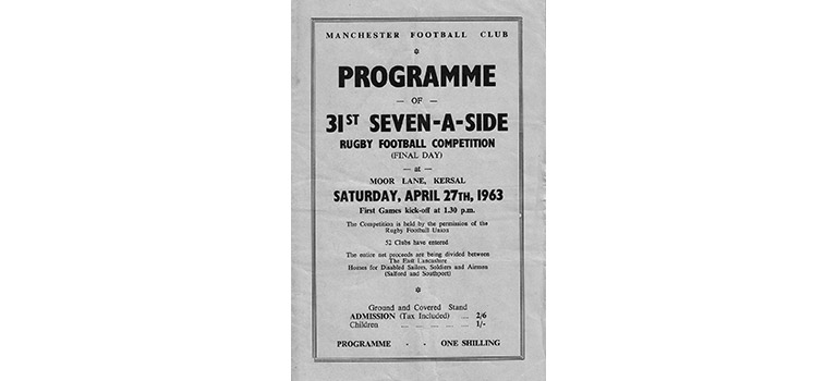 Manchester 7s 1963